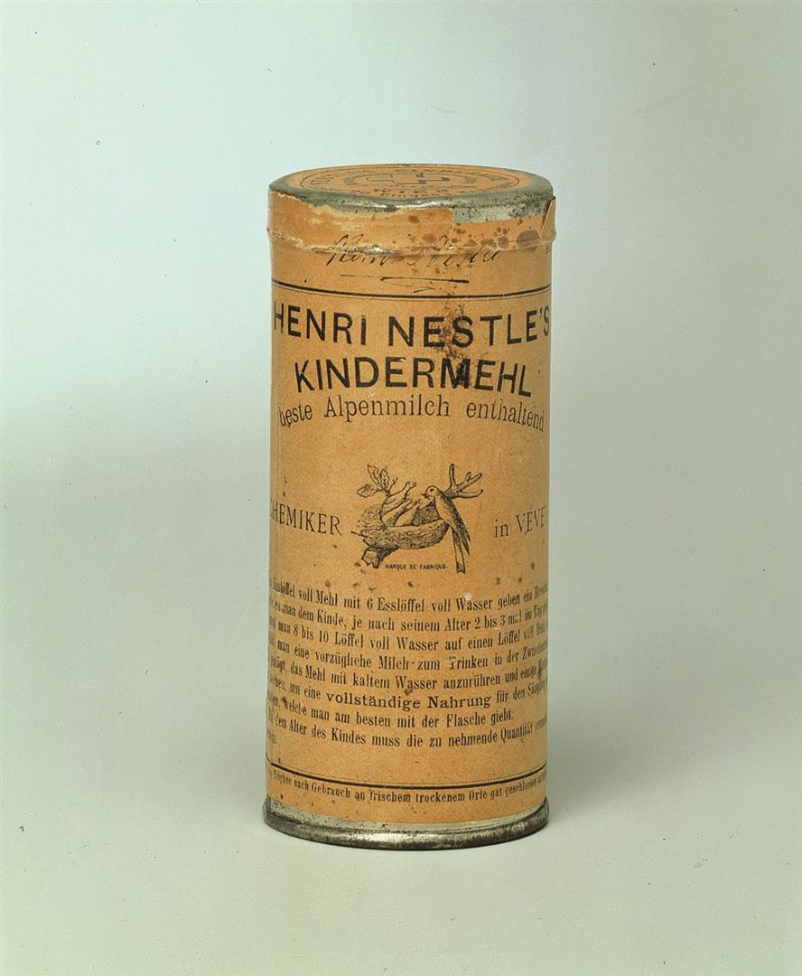 Miracle product: an early tin of children's flour