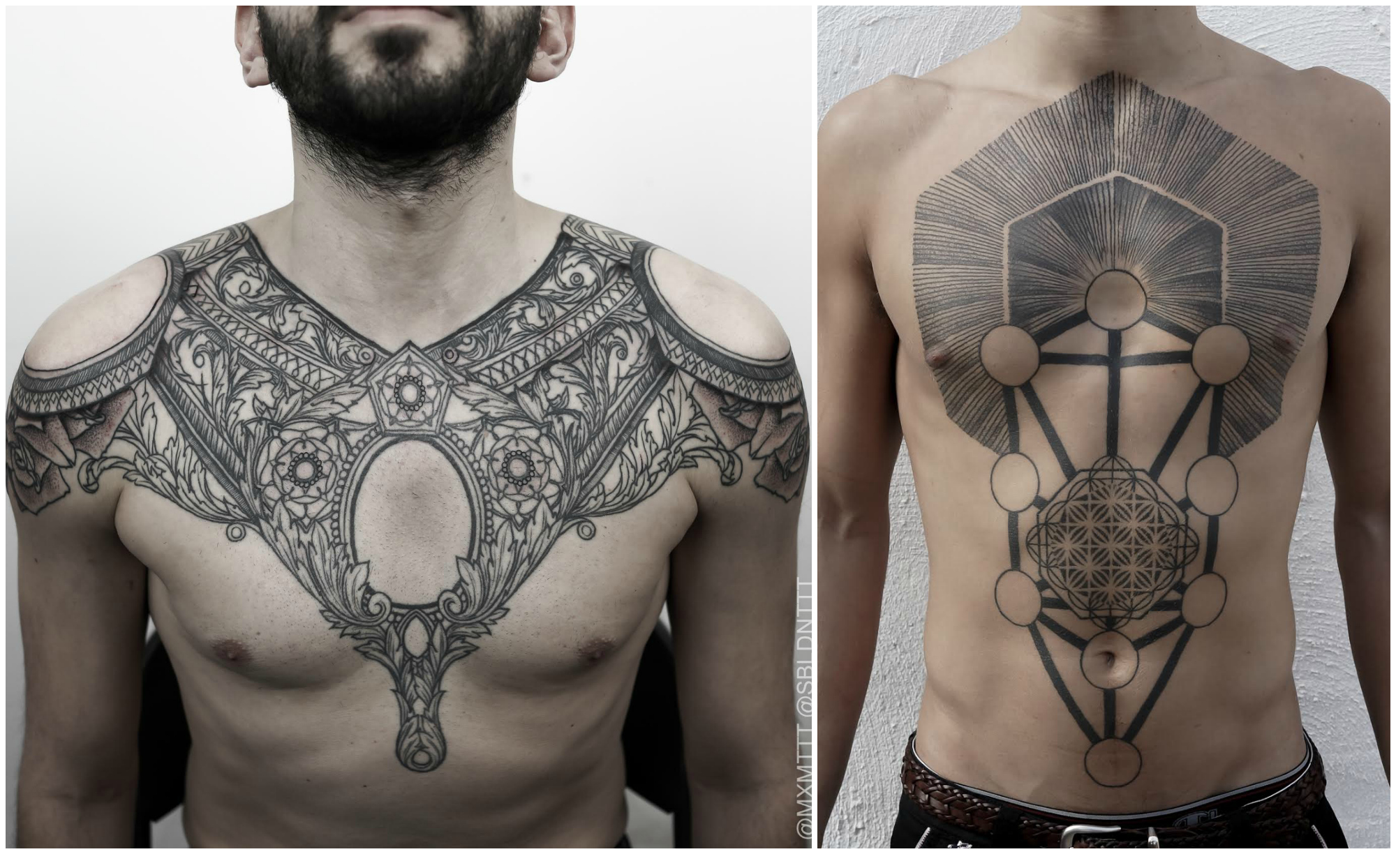 Tattoos by Maxime Buchi