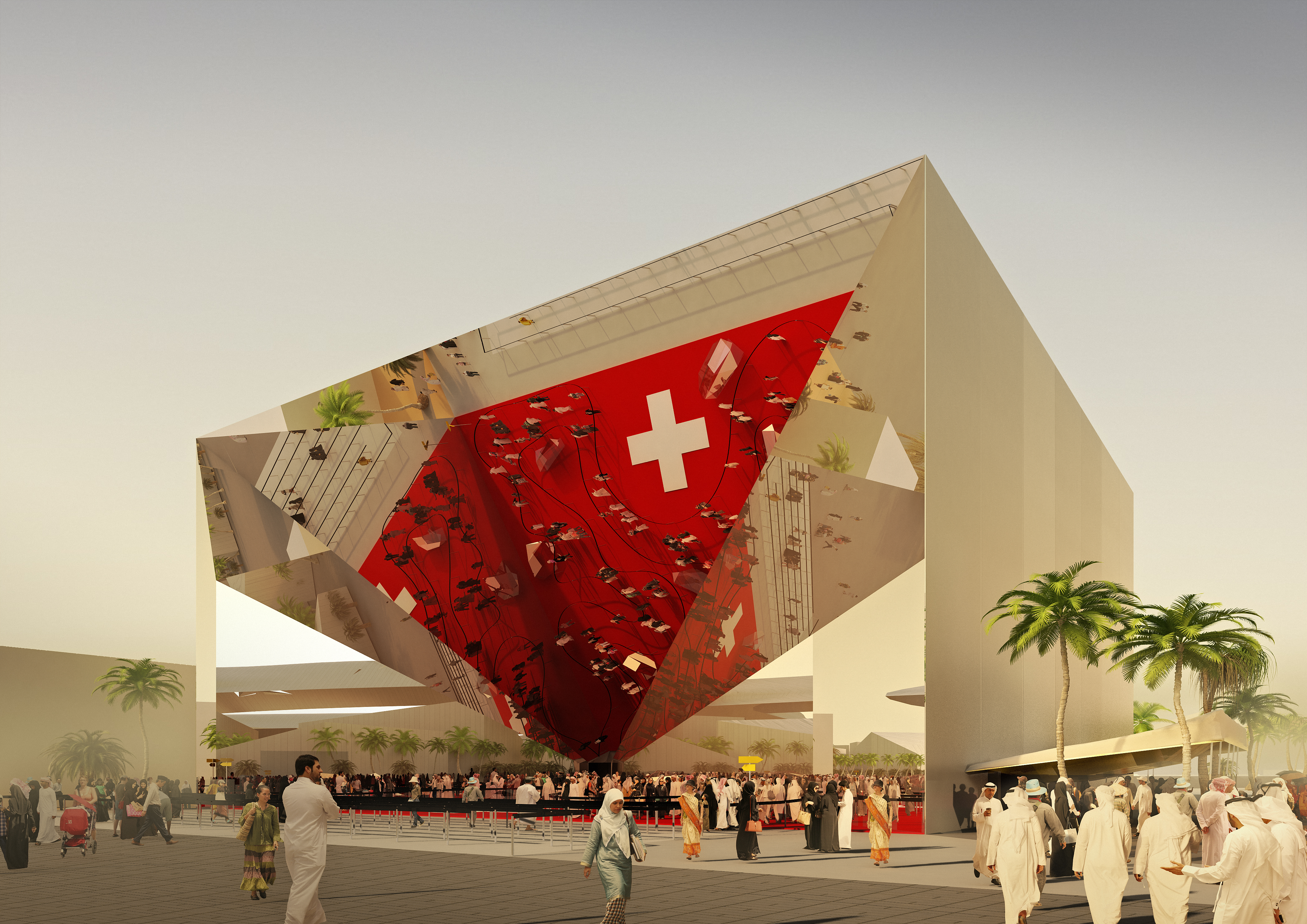 Expo 2020 Stands For : Green light for the swiss pavilion at expo in dubai