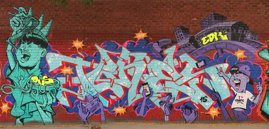 Tones, a trailblazing Swiss graffiti artist | House of ...