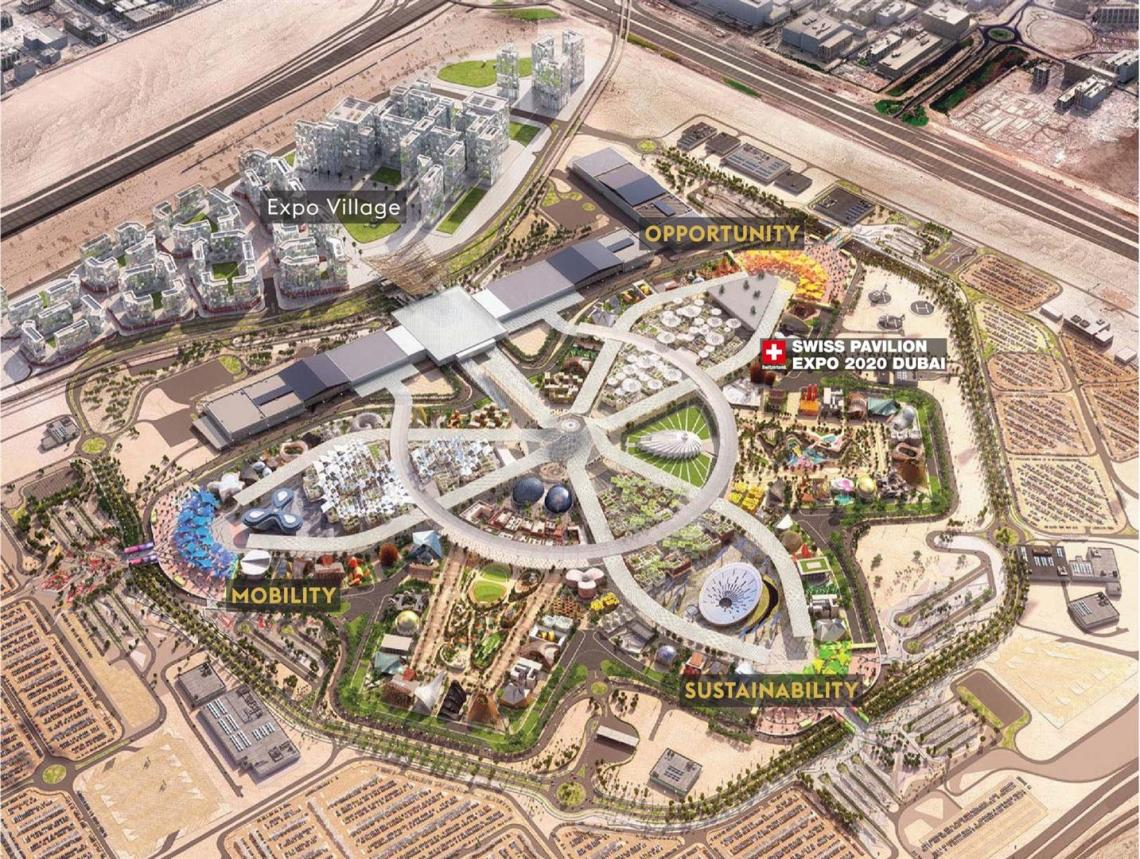 Overview Expo 2020 Dubai