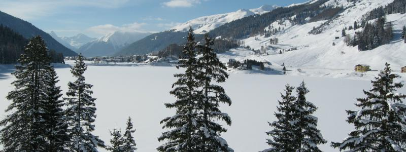 Davos in winter today