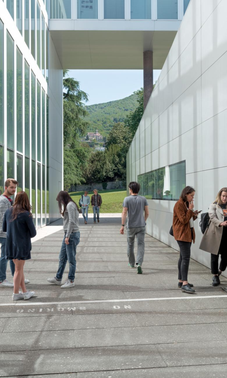 © USI - In Ticino, in Mendrisio, there is the Academy of Architecture of the University of Italian-speaking Switzerland, which was co-founded by Mario Botta in 1996.