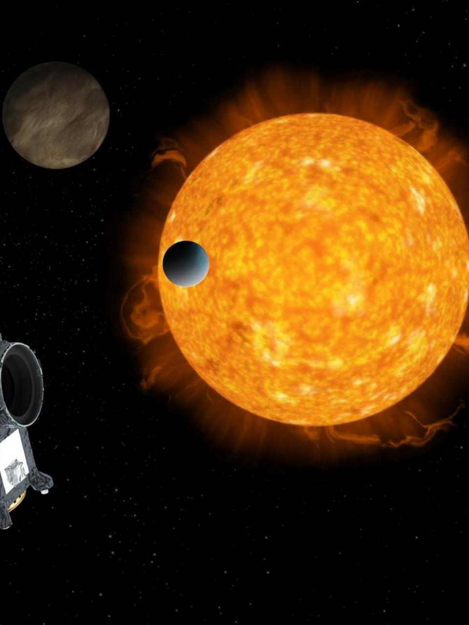 Artist's impression of the space telescope © ESA/ATG medialab