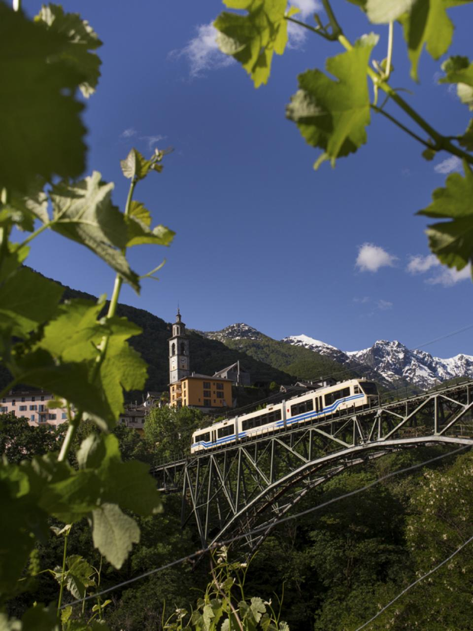 Centovalli Express, Intragna, Tessin. © Swiss Travel System AG